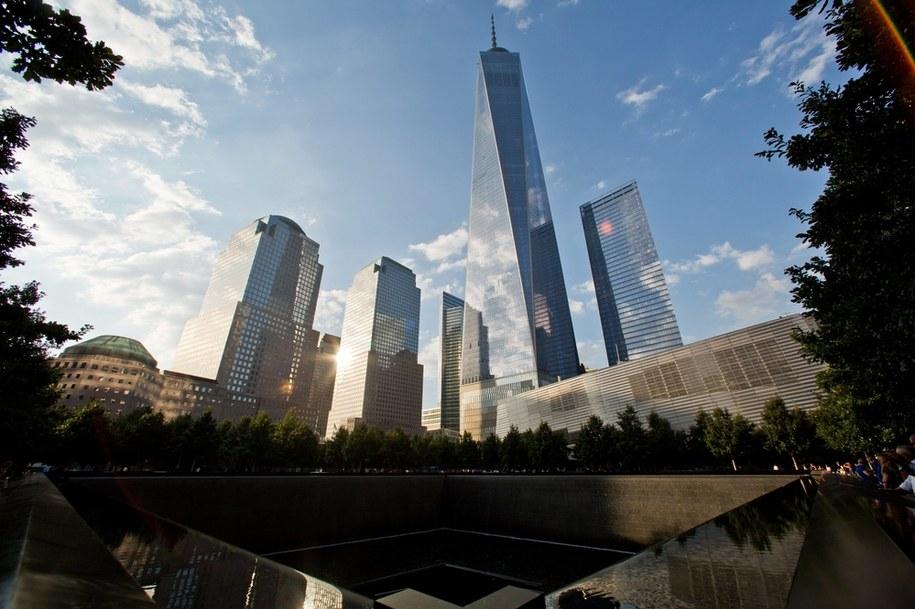 Pomnik ofiar ataku na WTC /Daniel Karmann /PAP/DPA