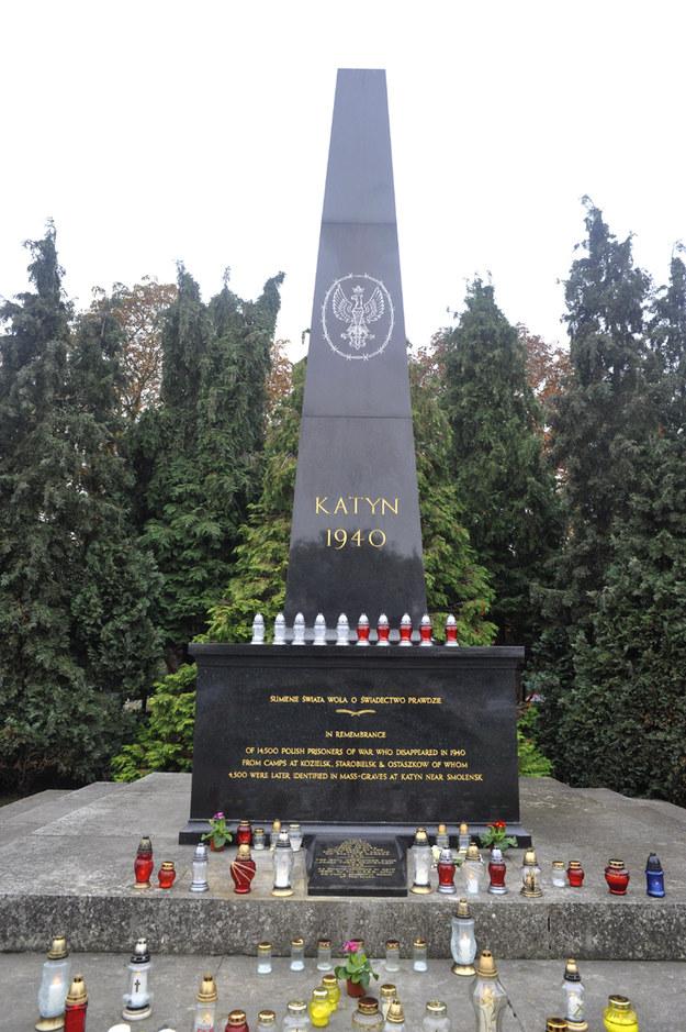 Pomnik ofiar katyńskich /Bogdan Frymorgen /RMF FM