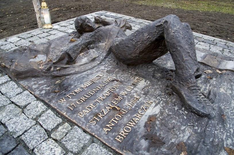 Pomnik Ofiar Stanu Wojennego w Gdańsku /Wojciech Stróżyk /Reporter