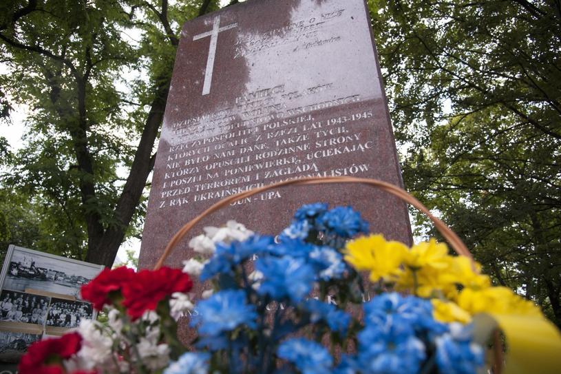 Pomnik Pamięci Ofiar Eksterminacji Ludności Polskiej na Wołyniu /Wojciech Strozyk/REPORTER /East News