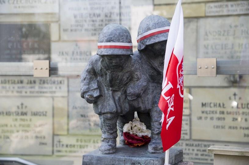 Pomnik poświęcony najmłodszym żołnierzom Powstania Warszawskiego /Wojciech Strozyk/REPORTER /East News