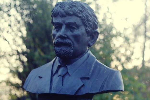 Pomnik Ryszarda Kuklińskiego w krakowskim Parku Jordana /Maciej Nycz, RMF FM /Archiwum RMF FM