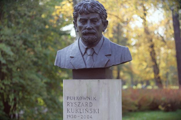 Pomnik Ryszarda Kuklińskiego w krakowskim Parku Jordana /Archiwum RMF FM