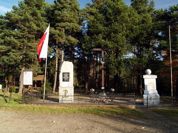 Pomnik Spotkań Pokoleń na Przełęczy Rydza Śmigłego w Chyszówkach /Małgorzata Żyłko /INTERIA.PL
