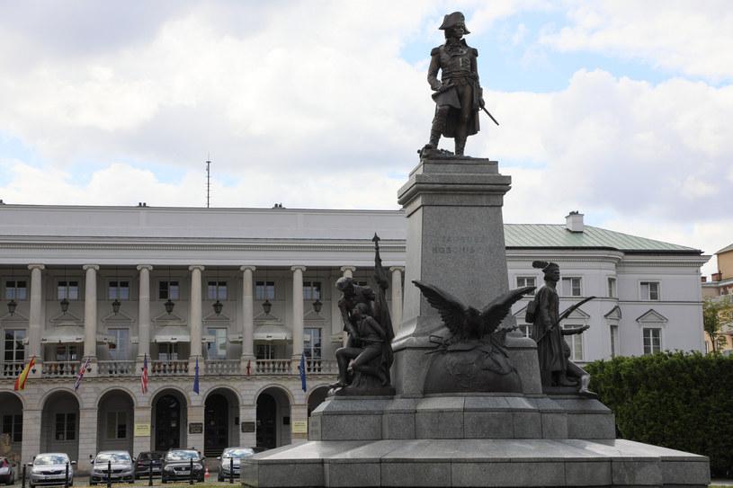 Pomnik Tadeusza Kościuszki w Warszawie /Jakub Kamiński   /East News