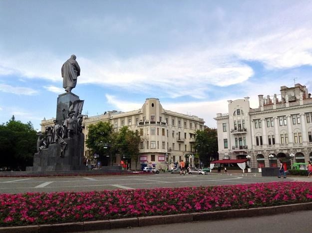 Pomnik Tarasa Szewczenki w Charkowie /©123RF/PICSEL