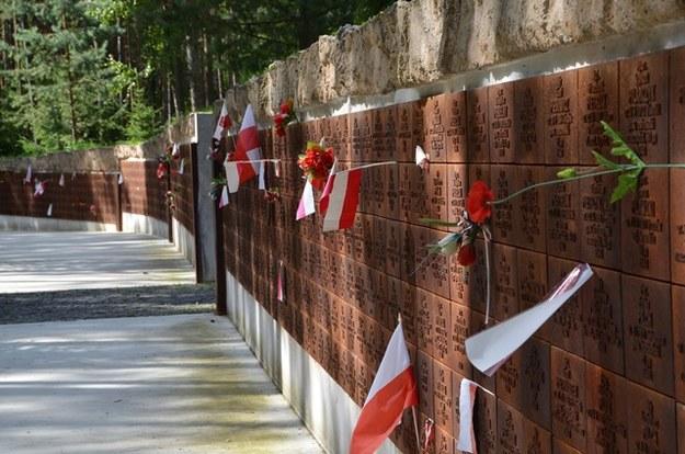Pomnik w Katyniu ku czci pomordowanych Polaków /UWE ZUCCHI  /PAP