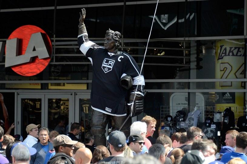 Pomnik Wayne'a Gretzky'ego w Los Angeles. /AFP