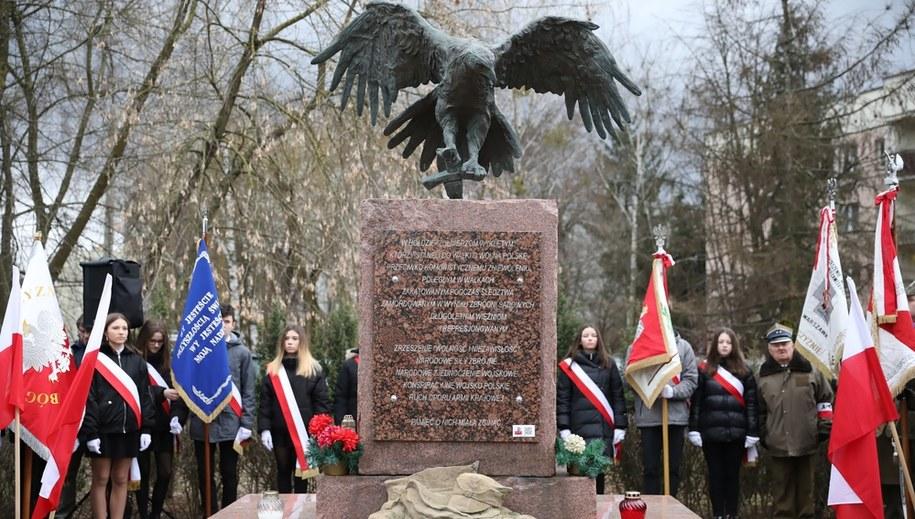Pomnik Żołnierzy Wyklętych w Warszawie / Leszek Szymański    /PAP