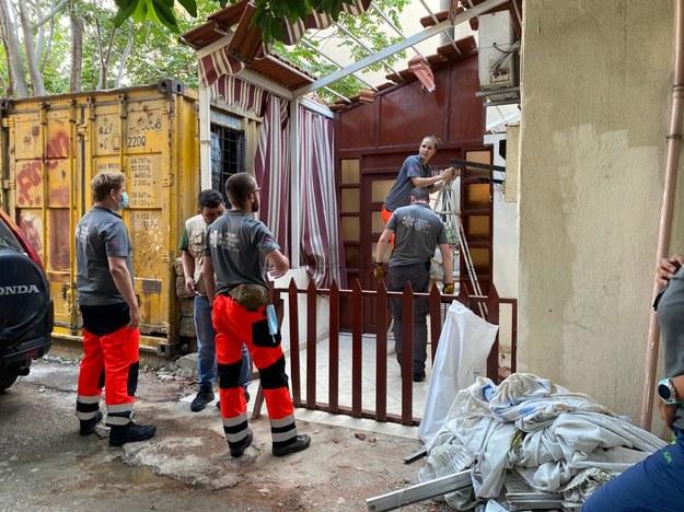 Pomoc dla poszkodowanych w wyniku eksplozji /PCPM /