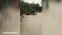Pomoc nadeszła w ostatniej chwili. Dramatyczna akcja ratunkowa w Teksasie