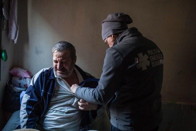 Pomoc PCPM dla uchodźców w Libanie, fot: A. Rostkowski /