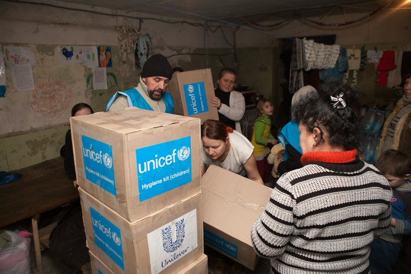Pomoc UNICEF na Ukrainie /© UNICEF/Filippov  /