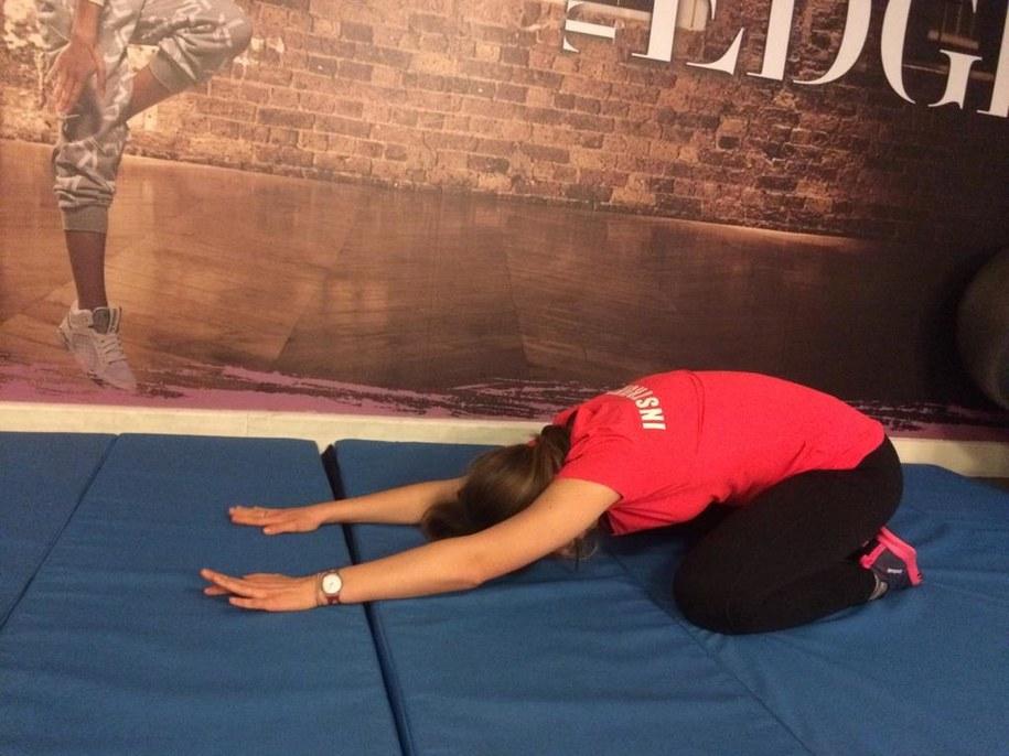 Pomocne w walce ze stresem ćwiczenie o nazwie ukłon japoński /Michał Dobrołowicz /RMF FM
