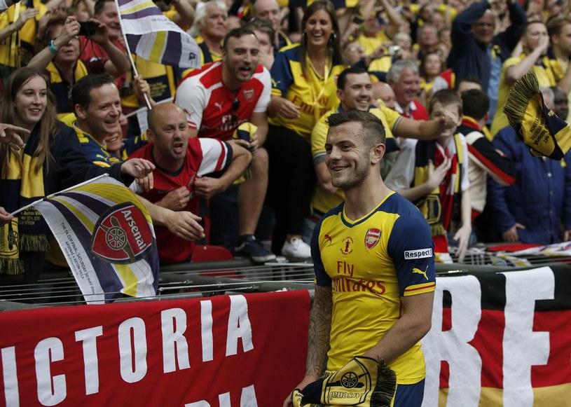 Pomocnik Arsenalu Jack Wilshere /AFP