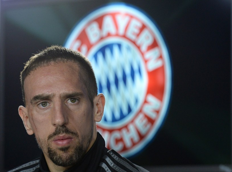 Pomocnik Bayernu Monachium Franck Ribery /AFP