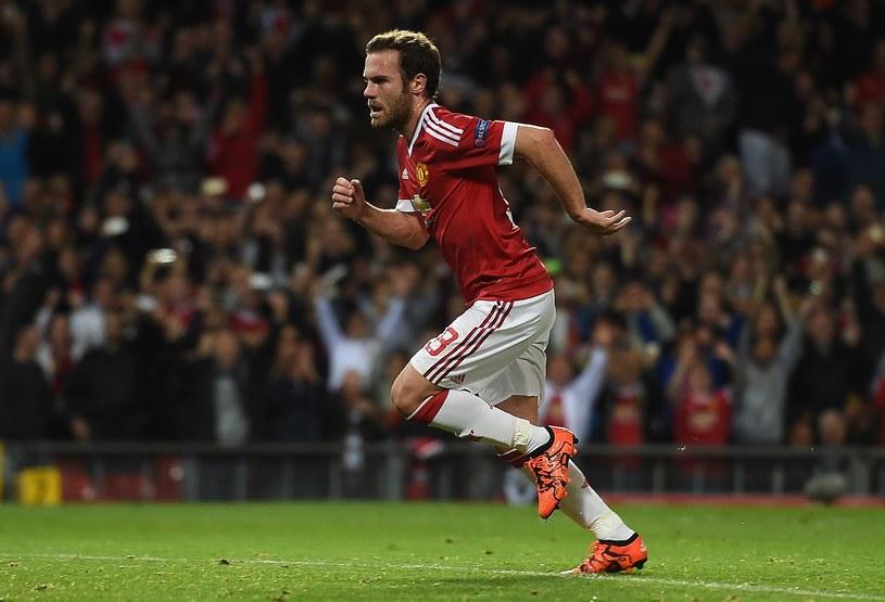 Pomocnik Manchesteru United Juan Mata jest w wielkiej formie /AFP