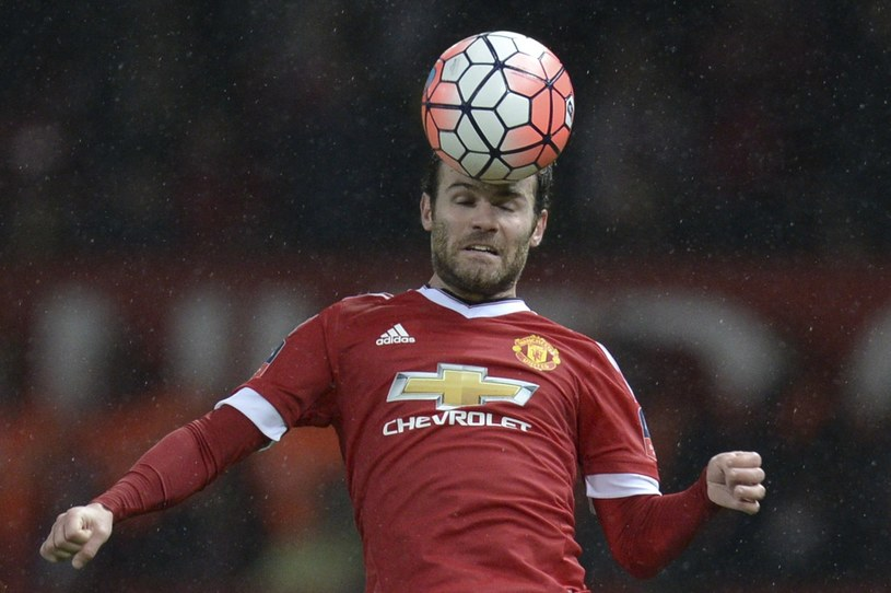 Pomocnik Manchesteru United Juan Mata /AFP