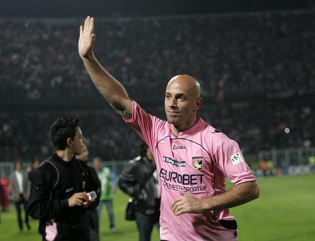 Pomocnik Palermo - Giulio Migliaccio. /AFP
