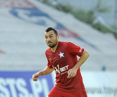 Pomocnik Wisły Nikola Mitrović po meczu z Górnikiem. Wideo