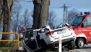 Pomorskie: Pięć ofiar śmiertelnych wypadku