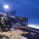 Pomorskie: Tragiczny wypadek w Szprudowie. Dwie osoby nie żyją