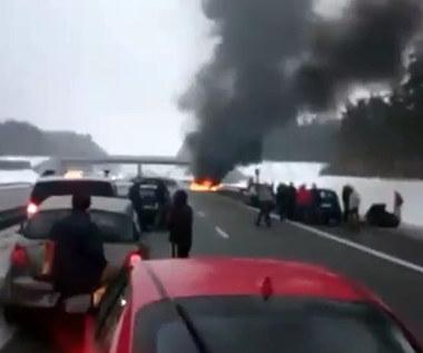 Pomorskie: Zablokowana autostrada A1 w s</a> </div>     </div> </div>      </div>          <div class=