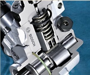 Pompa wysokiego ciśnienia w silniku Diesla /Motor