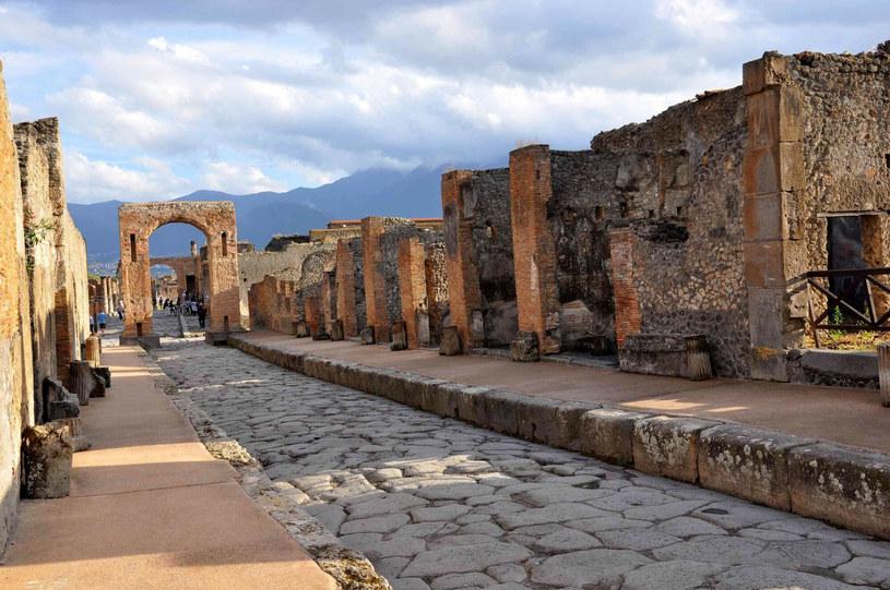 Pompeje, ruiny; zdj. ilustracyjne /Tomasz Cholas /Reporter