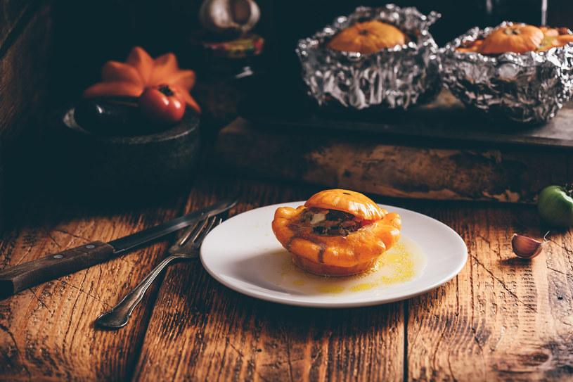 Pomysł na oryginalny obiad- faszerowane patisony /123RF/PICSEL