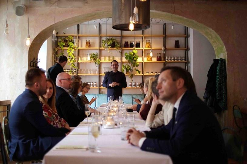 Pomysłodawcą kolacji jest Marcin Koch /materiały prasowe