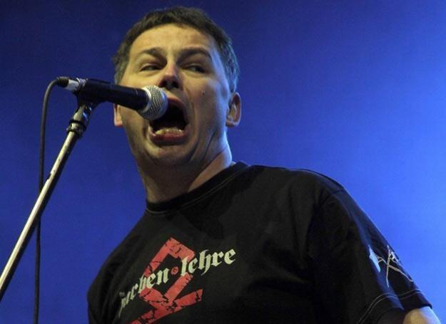 Pomysłodawcą Punky Reggae Live jest Farben Lehre (na zdjęciu Wojtek Wojda) - fot. Leszek Rusek /Reporter