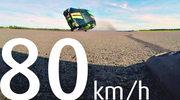 Ponad 180 km/h na dwóch kółkach - i to samochodem!