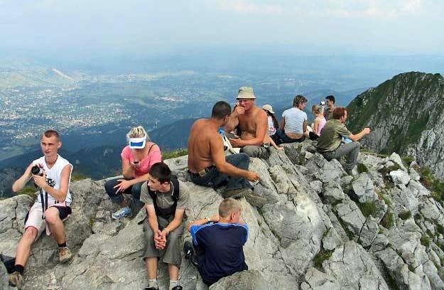 Ponad 180 tys. osób odwiedziło polskie Tatry pomiędzy 13 a 19 sierpnia /RMF
