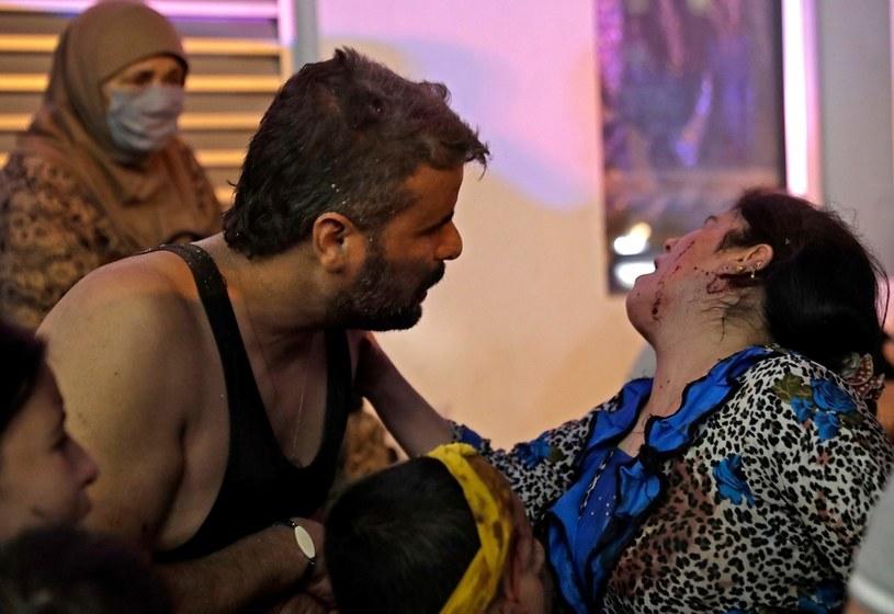 Ponad 2,5 tys. osób jest rannych /AFP