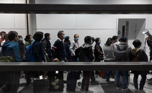 Ponad 200 osób ewakuowanych z Wuhan przyleciało do Wielkiej Brytanii