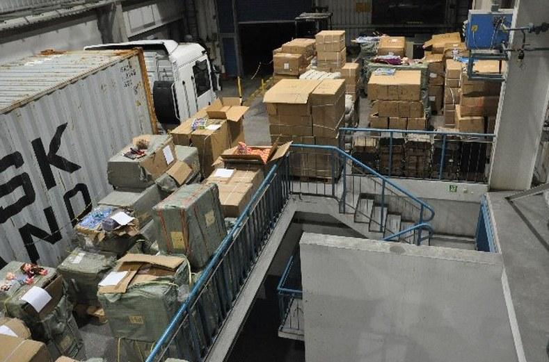Ponad 28 tysięcy sztuk podrobionych zabawek znanych światowych producentów zatrzymali funkcjonariusze lubuskiej KAS /KAS /