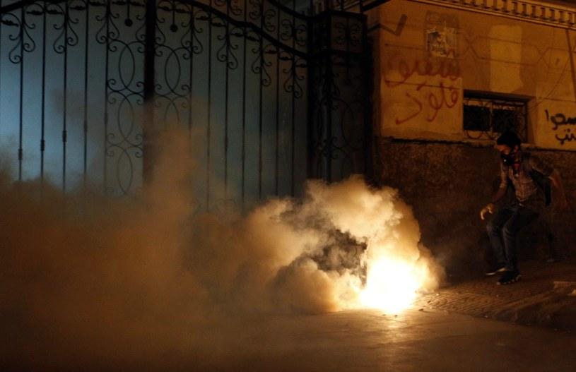Ponad 40 osób odniosło obrażenia w starciach w Egipcie /AFP