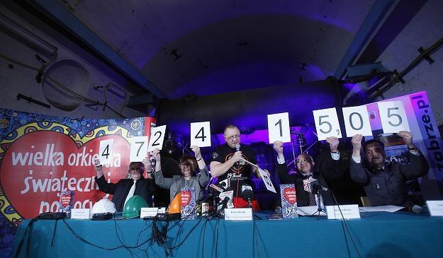 Ponad 47,2 mln zł zebrała WOŚP podczas XIX Finału/fot. Marek Zimny /PAP