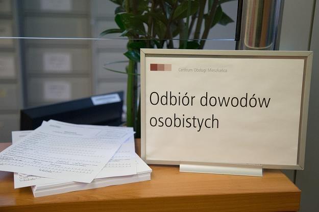 Ponad 5 milionów Polaków musi wymienić dowód osobisty /fot. Krzysztof Kaniewski /Reporter