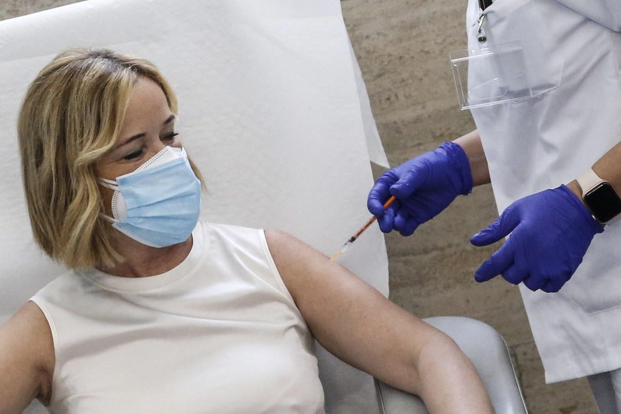 Ponad 50 tys. zaszczepionych, 26 dawek szczepionki na Covid-19 zutylizowanych