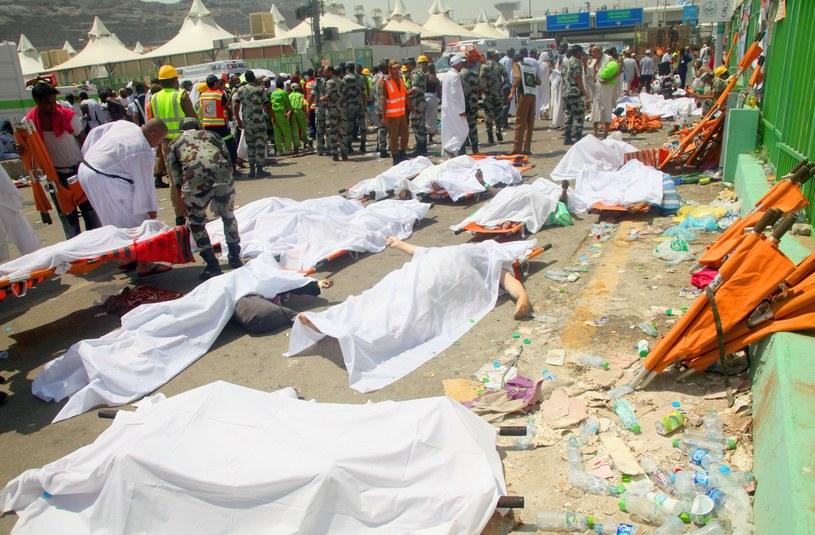 Ponad 700 pielgrzymów zostało stratowanych w drodze do Mekki /AFP