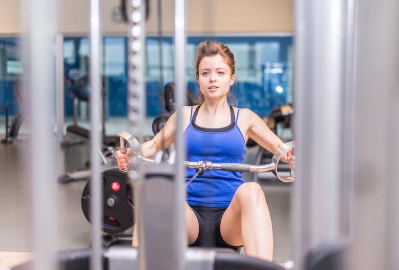 Ponad połowa klubów fitness znów działa. /123RF/PICSEL