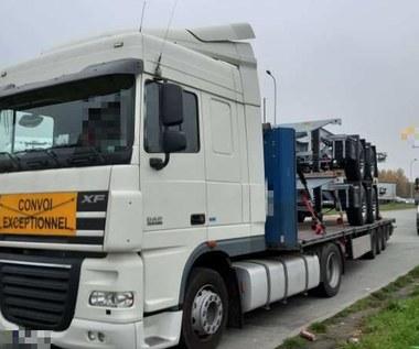 Ponad połowa zatrzymanych ciężarówek nie powinna być na drogach