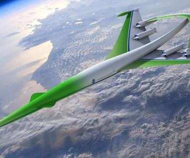 Ponaddźwiękowe i ekologiczne - samoloty pasażerskie przyszłości