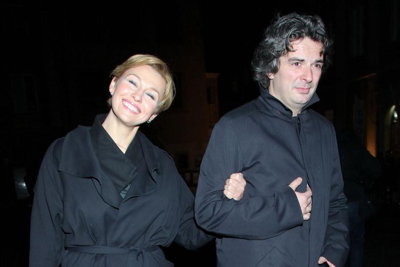 Popek była związana z Komornickim w 2012 roku /Paweł Wrzecion /MWMedia