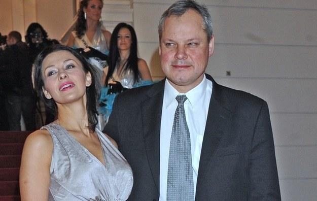 Popek z byłym mężem /- /MWMedia
