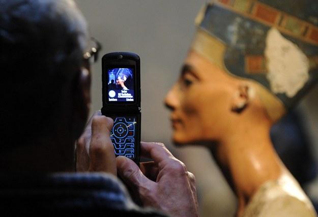 Popiersie królowej Nefretete znajduje się w muzeum w Berlinie / A3464 Rainer Jensen    /PAP/EPA