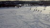Popis kreatywności. Wystarczył śnieg i trochę wolnego czasu