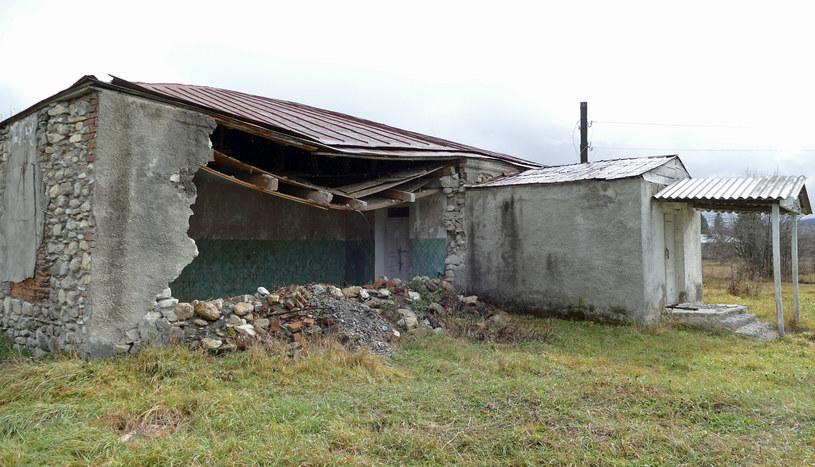 Poprzedni budynek przedszkola dawno temu się zawalił ... /Marcin Ogdowski /INTERIA.PL